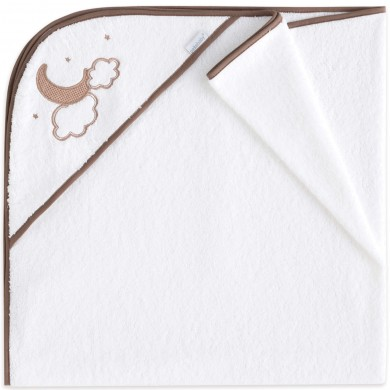 capa de baño bebe, algodon, lino