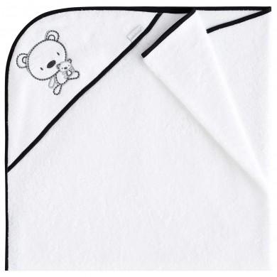 Capa de baño Chiosso, algodon, rizo