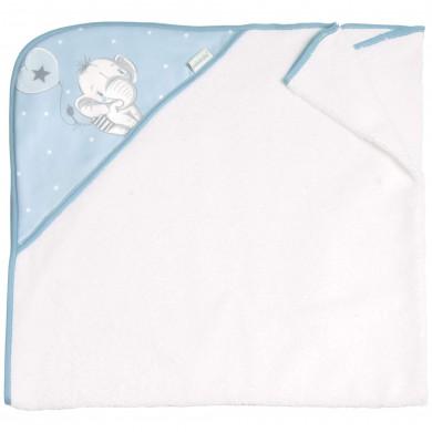 Capas y toallas de baño algodon, rizo