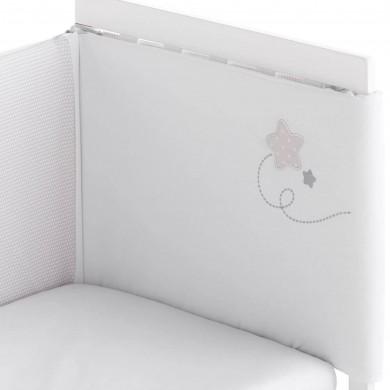 Protector de cuna para bebe 185 x 43 cm