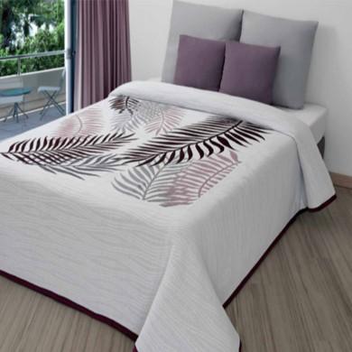 Colcha de verano, transpirable, colcha con estampado digital para cama de matrimonio