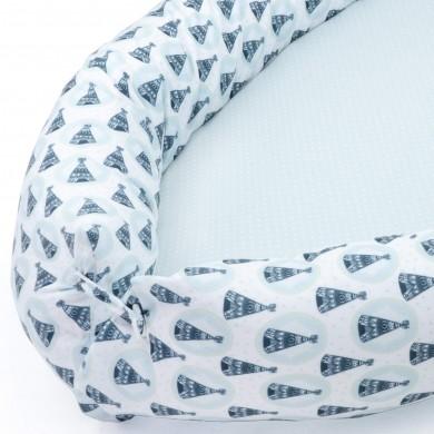 Nido cuna bebe, nido de cuna para evitar peligro, nido de cuna estampado para bebe niña o bebe niño
