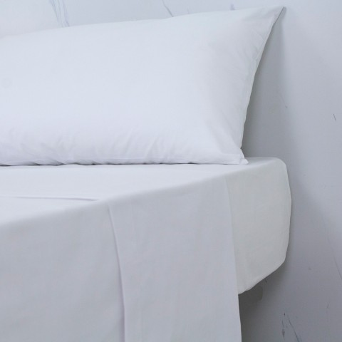 Sábana Bajera Ajustable 30/27 (144 hilos) 50% algodón - 50% poliéster